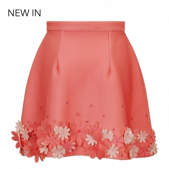 Made To Order Flower Bottom Skirt