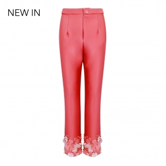 Made To Order Flower Bottom Trousers