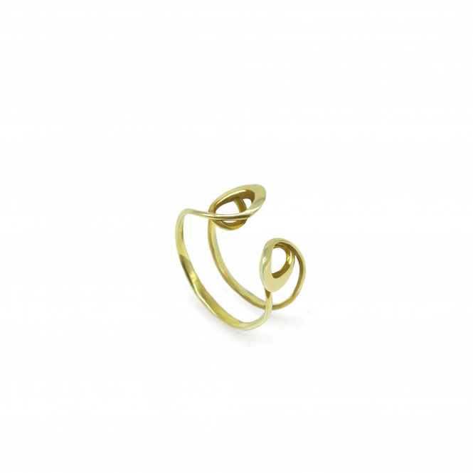 MENG ZHANG Made To Order Gold Liz Ring