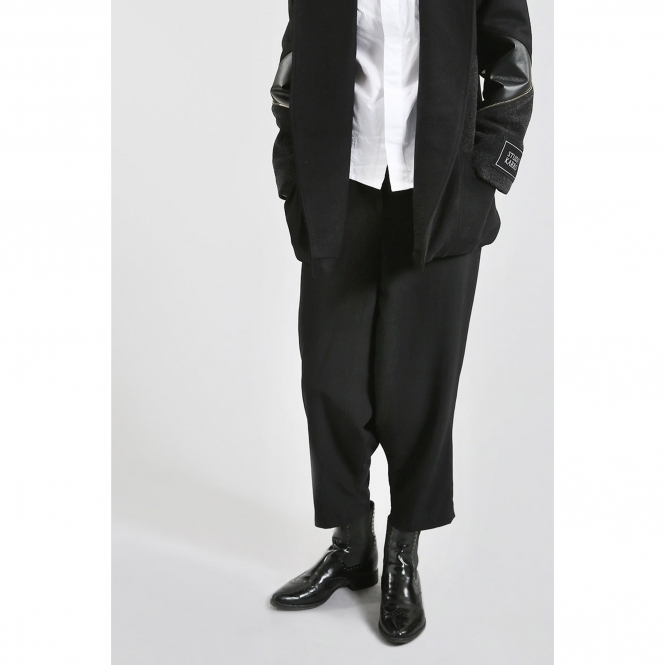 STUDIO KARRO Made To Order Dropped Crotch Trousers