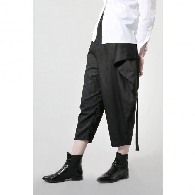 STUDIO KARRO Made To Order Overlap Trousers