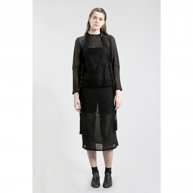 STUDIO KARRO Made To Order Pleated Dress