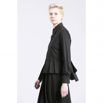 Made To Order Pleated Shirt