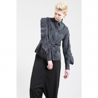 Made To Order Pleated Sleeve Shirt