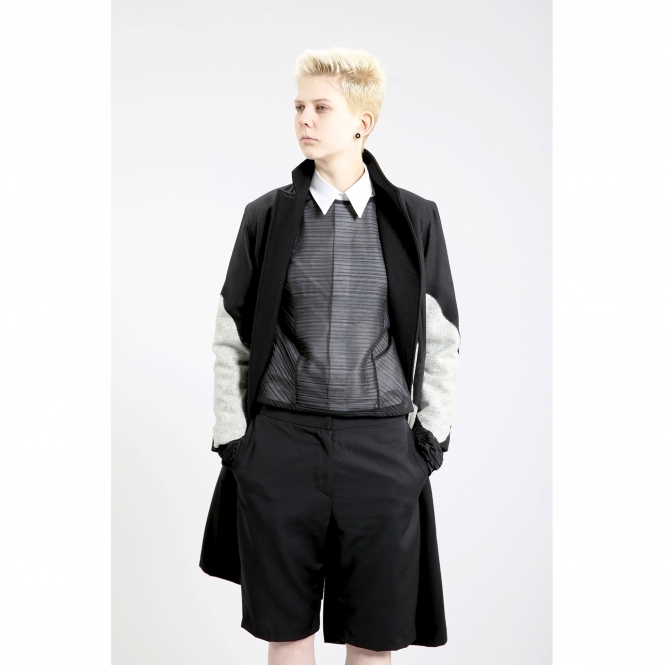 STUDIO KARRO Made To Order Pleated Top