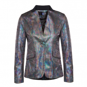 Rainbow Oil Effect Jacket