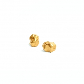 Made To Order Gold Raw Earrings